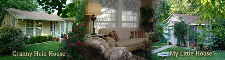 Two Wee Cottages Fredericksburg Texas Bed Breakfast