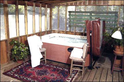 Private Hot Tub Jucuzzi 2 Wee Cottages Fredericksburg Tx